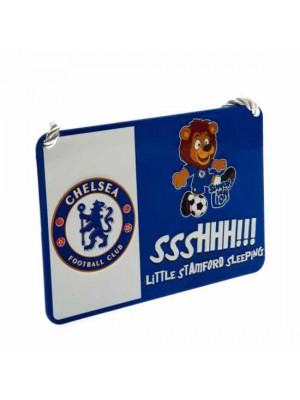 Chelsea FC Bedroom Sign Mascot