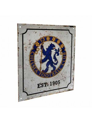 Chelsea FC Retro Logo Sign