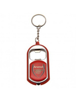 Arsenal FC Key Ring Torch Bottle Opener