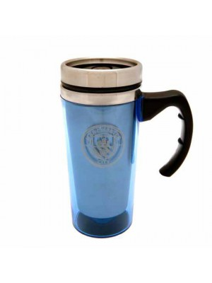 Manchester City FC Aluminium Travel Mug