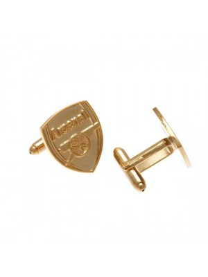 Arsenal FC Gold Plated Cufflinks