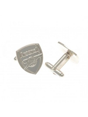 Arsenal Fc Silver Plated Cufflinks Cr