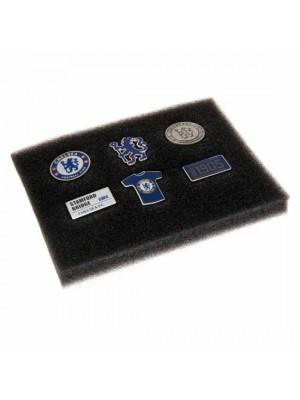 Chelsea FC 6 Piece Badge Set