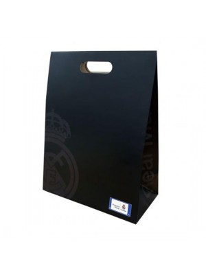 Real Madrid FC Gift Bag Medium Black