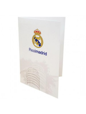 Real Madrid FC Greetings Card WT