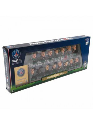 Paris Saint Germain FC SoccerStarz Quadruple Winners Team Pack