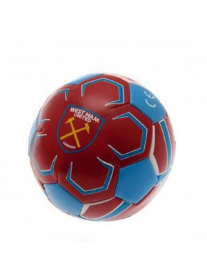 West Ham United FC 4 inch Soft Ball