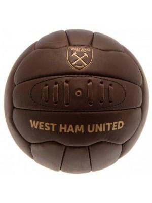 West Ham United FC Retro Heritage Football