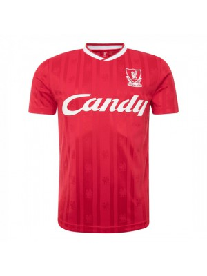 Liverpool Candy 88 - 89 Home Shirt