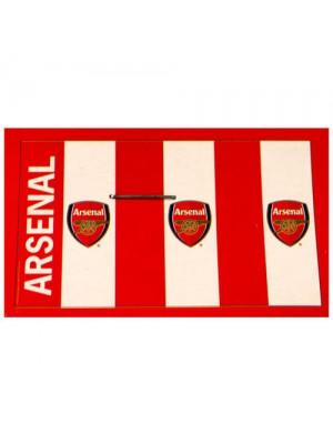 Arsenal flag - 3 logos
