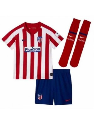 Atletico Madrid Little Boys Home Kit 2019/20
