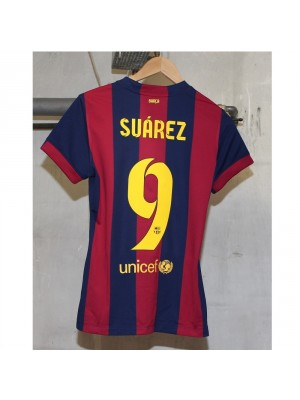 Barcelona home jersey womens - Suarez 9