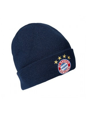 FC Bayern knitted hat - navy