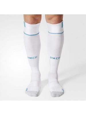 Real Madrid home socks - mens , youth
