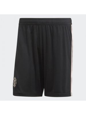 Man Utd home shorts - black