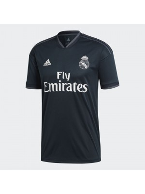 Real Madrid away jersey - La Liga badge