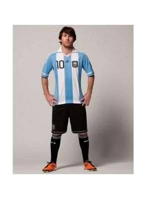 Argentina hjemme trøje Messi model
