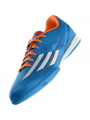 F10 indendørs sko blå hvid