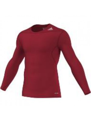 TF base layer long sleeve - red