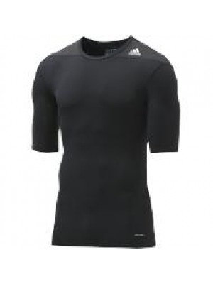 TF base layer short sleeve - black