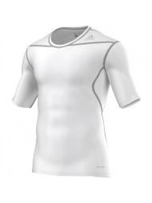 TF base layer short sleeve - white