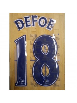 DEFOE 18 navy/white Premier League tryk