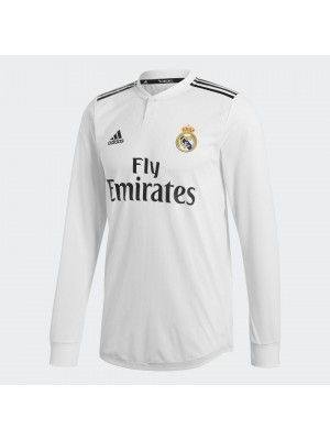 Real Madrid home jersey L/S - authentic