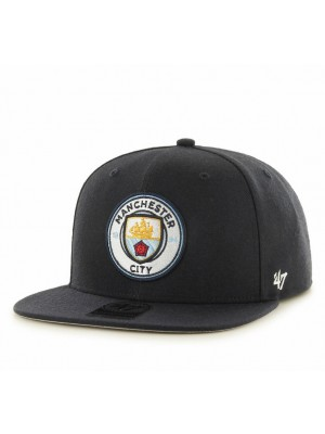 Manchester City no shot captain cap - navy