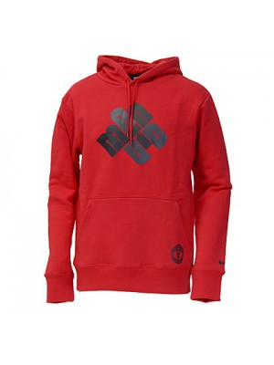 Manchester United hoody sweatshirt 2010/11 - red