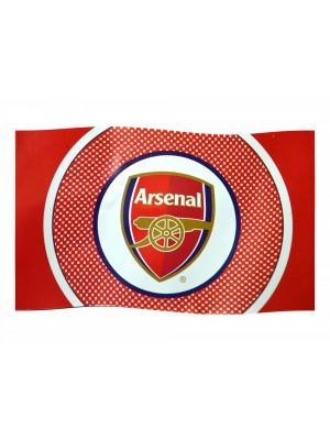 Arsenal flag - bulls eye