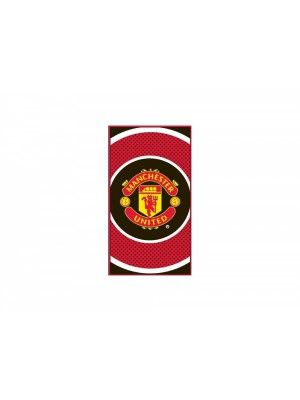 Manchester United towel - bulls eye