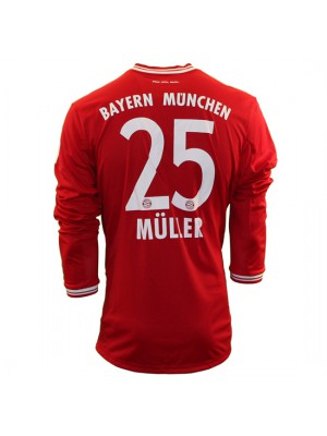 FC Bayern home jersey L/S 2013/14 - Müller 25