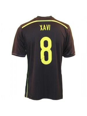 Spain away jersey 2014 - Xavi 8