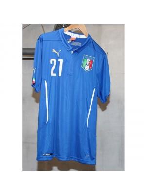 Italy hjemme trøje 2014 - Pirlo 21