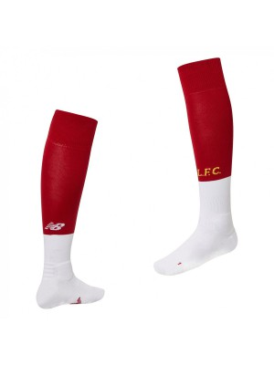 Liverpool home socks - boys