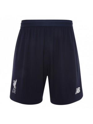 Liverpool home shorts - boys