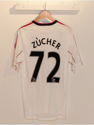 Liverpool away jersey 2010/11 - Zucher 72