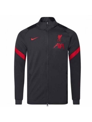 Liverpool Dark Grey Strike Jacket 2020/21