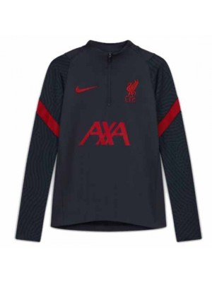Liverpool Kids Dark Grey Strike Drill Top 2020/21