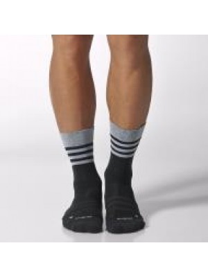 Adidas crew light weight socks - black
