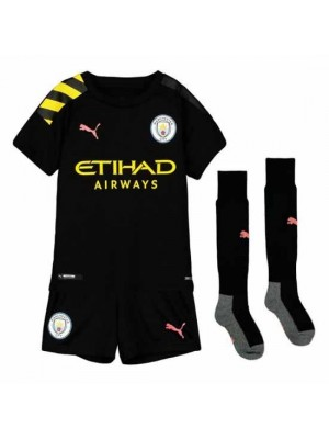 Manchester City Kids Away Kit 2019/20