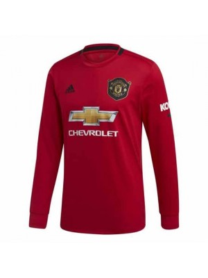 Manchester United Long Sleeve Home Shirt 2019/20