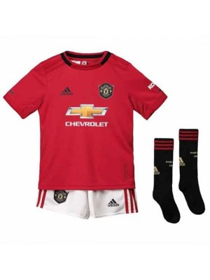 Manchester United Kids Home Kit 2019/20