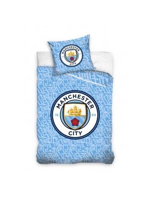 Manchester City duvet set - stripes