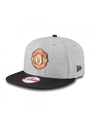 Manchester United New Era 9Forty Devil Cap - Black Grey