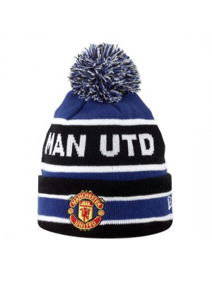 Manchester United Bobble Hat - Royal