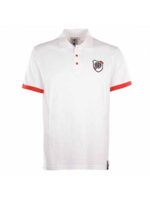 Riverplate White Polo Shirt