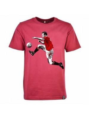 Miniboro Cantona T-Shirt - Maroon