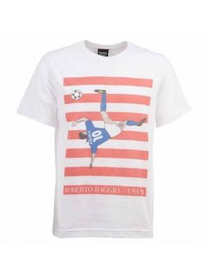 Pennarello Roberto Baggio USA 1994 T-Shirt - White