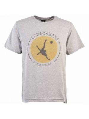 Copacabana Beach Soccer T-Shirt - Grey Marl